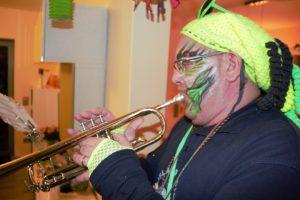 trompeter (zufällig unser musikalischer leiter ab 2012)